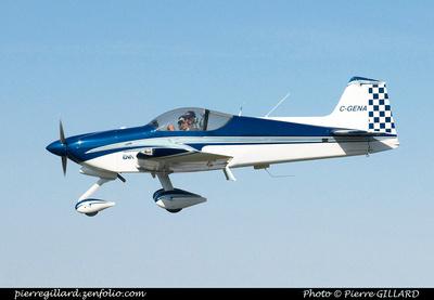 Pierre GILLARD: Van's RV-6A C-GENA &emdash; 2011-25840
