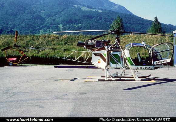 Pierre GILLARD: Liechtenstein - Rhein Helikopters &emdash; 005007