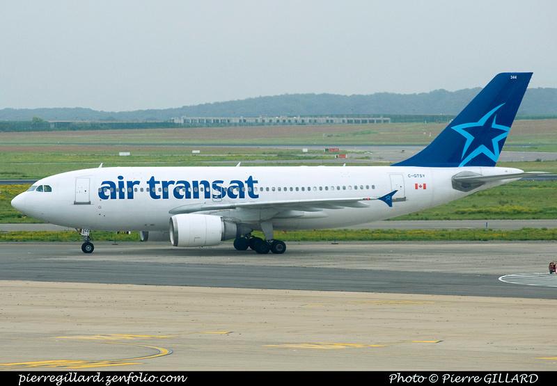 Pierre GILLARD: Air Transat &emdash; 2011-07718