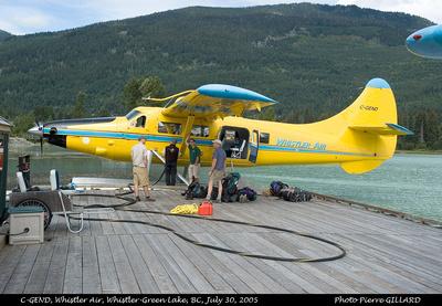 Pierre GILLARD: Whistler Air &emdash; 2005-4220