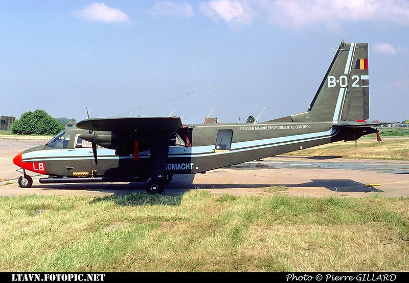 Pierre GILLARD: Aéronefs : Britten Norman BN-2A Islander &emdash; B02-000386