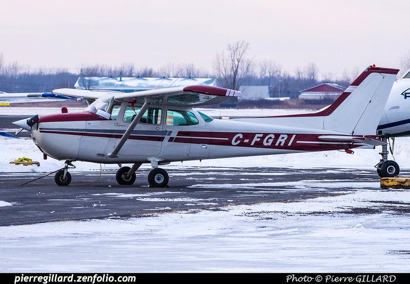 Pierre GILLARD: Private Aircraft - Avions privés : Canada &emdash; 2019-800040