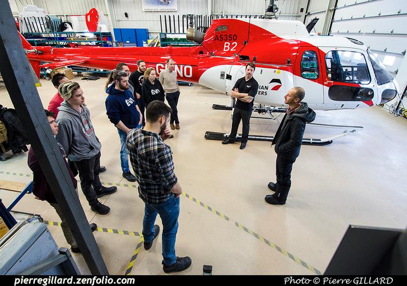 Pierre GILLARD: 2019-01-15 - Visite d'étudiants de l'ÉNA aux Hélicoptères Canadiens &emdash; 2019-711585