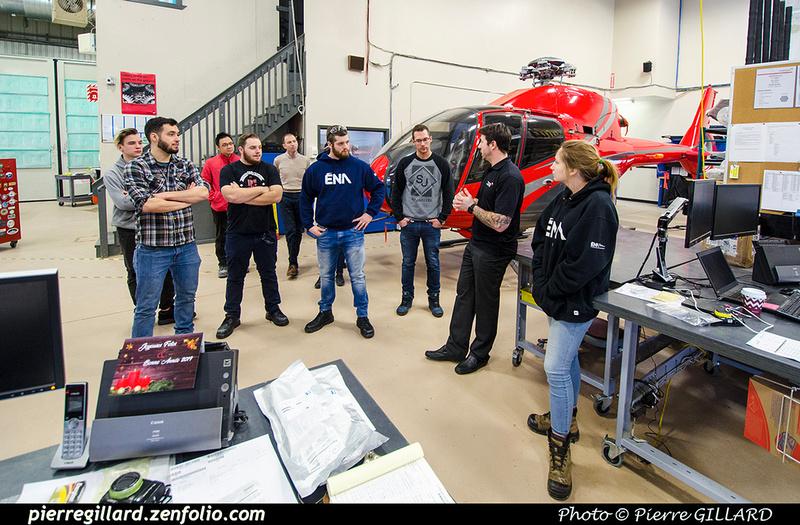 Pierre GILLARD: 2019-01-15 - Visite d'étudiants de l'ÉNA aux Hélicoptères Canadiens &emdash; 2019-711558