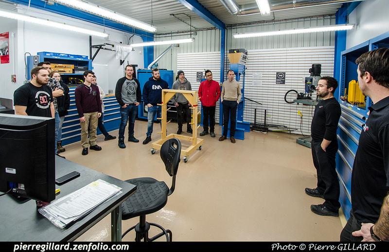Pierre GILLARD: 2019-01-15 - Visite d'étudiants de l'ÉNA aux Hélicoptères Canadiens &emdash; 2019-711540