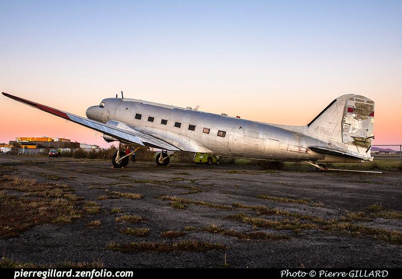 Pierre GILLARD: 2017-11-13 au 19 - Préparation du déplacement du DC-3 d'Avialogs &emdash; 2017-615910