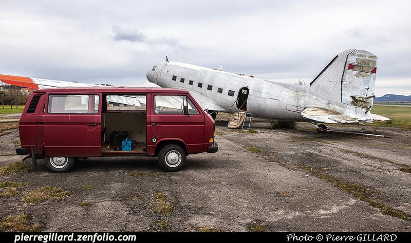 Pierre GILLARD: 2017-11-13 au 19 - Préparation du déplacement du DC-3 d'Avialogs &emdash; 2017-615920