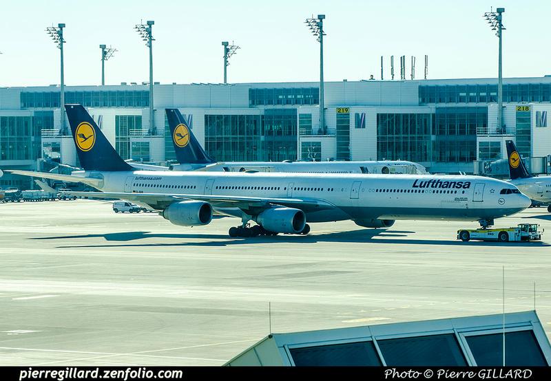 Pierre GILLARD: Lufthansa &emdash; 2017-706075
