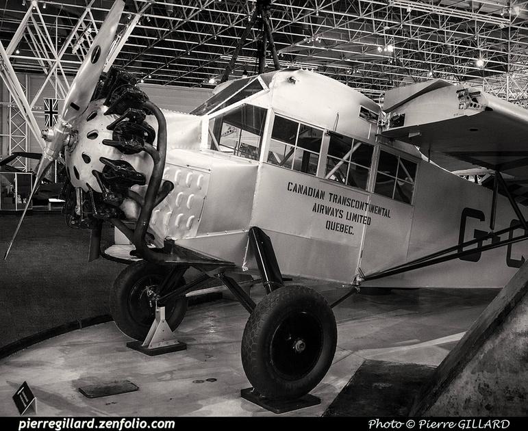 Pierre GILLARD: Canada : Musée de l'aviation et de l'espace du Canada &emdash; 2017-615616