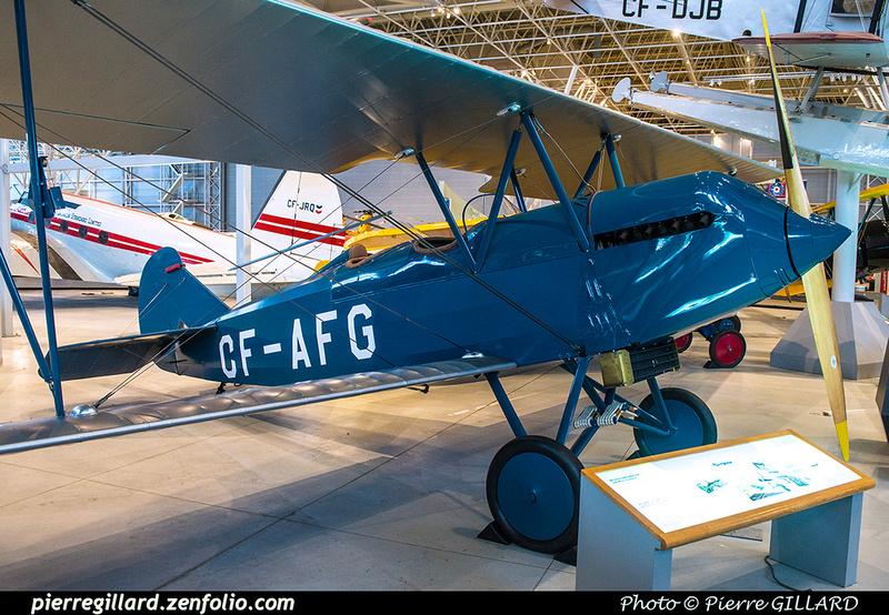 Pierre GILLARD: Canada : Musée de l'aviation et de l'espace du Canada &emdash; 2017-615629
