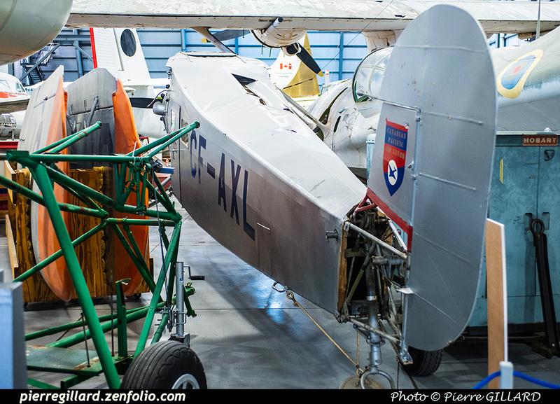 Pierre GILLARD: Canada : Musée de l'aviation et de l'espace du Canada &emdash; 2017-615729