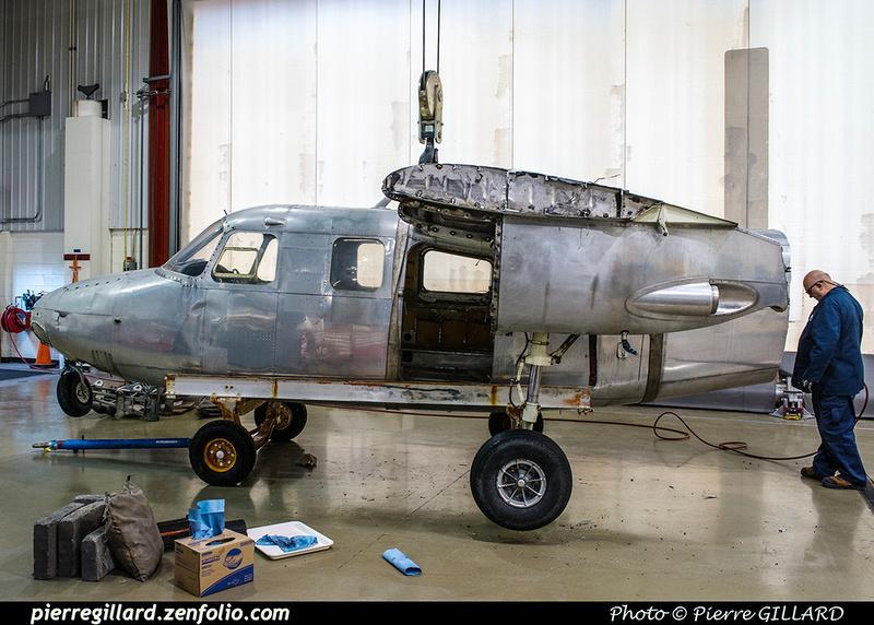 Pierre GILLARD: AeroCommander C-FQLR &emdash; 2017-616179