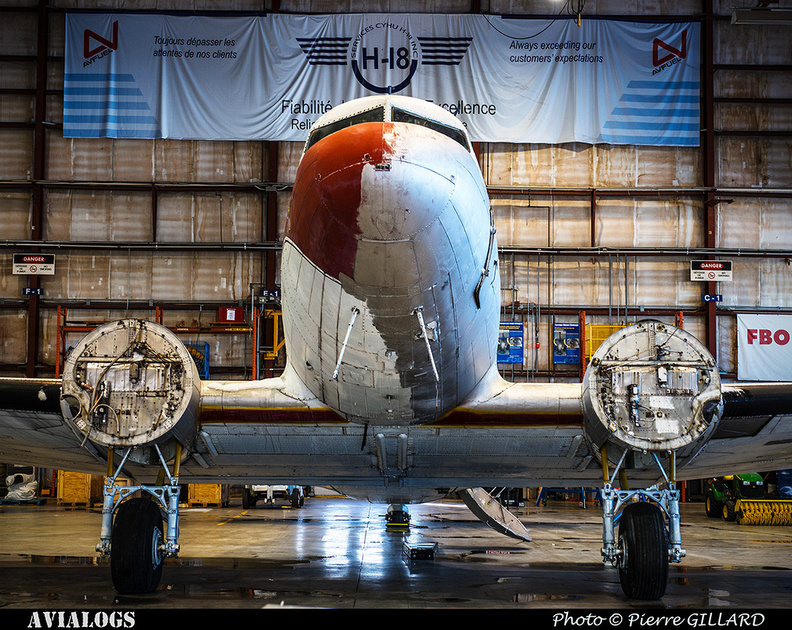 Pierre GILLARD: 2017-12-14 - Annonce officielle du lancement de la restauration du DC-3 C-FDTD d'Avialogs &emdash; 2017-616233