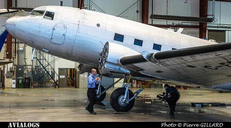 Pierre GILLARD: 2017-12-14 - Annonce officielle du lancement de la restauration du DC-3 C-FDTD d'Avialogs &emdash; 2017-616266