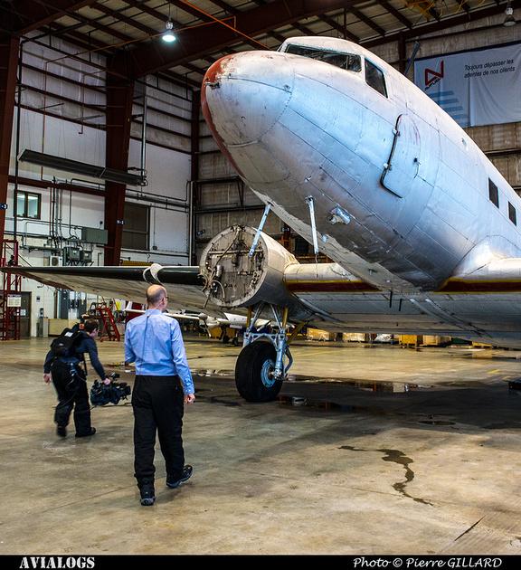Pierre GILLARD: 2017-12-14 - Annonce officielle du lancement de la restauration du DC-3 C-FDTD d'Avialogs &emdash; 2017-616244