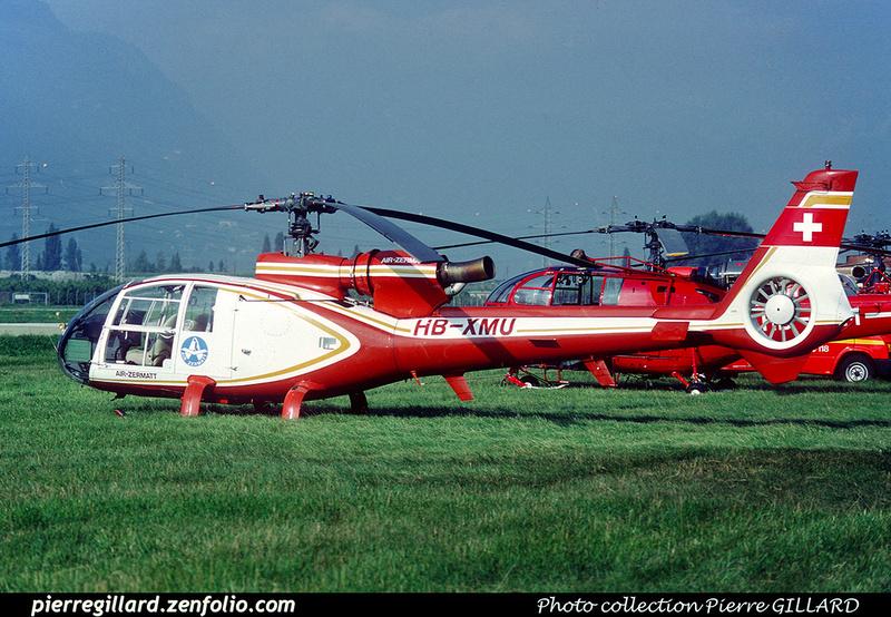 Pierre GILLARD: Air Zermatt - Helicopters &emdash; 020906