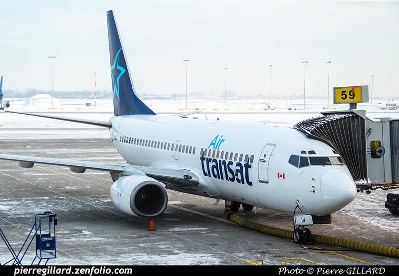 Pierre GILLARD: Air Transat &emdash; 2018-522115