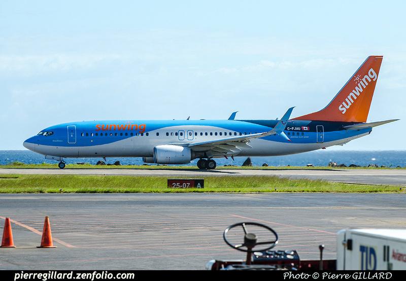 Pierre GILLARD: Sunwing Airlines &emdash; 2018-706308