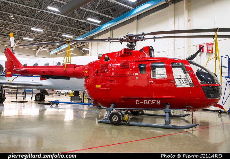 Pierre GILLARD: Eurocopter (MBB) Bo-105S CDN-BS-4 C-GCFN &emdash; 2018-616365
