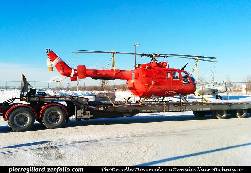 Pierre GILLARD: Eurocopter (MBB) Bo-105S CDN-BS-4 C-GCFN &emdash; 030330