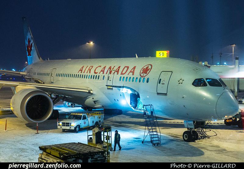 Pierre GILLARD: Air Canada &emdash; 2018-616441