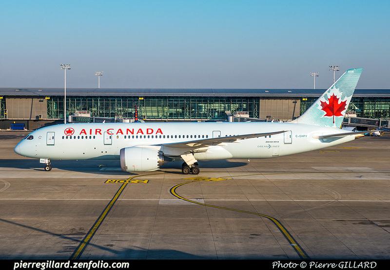 Pierre GILLARD: Air Canada &emdash; 2018-616699