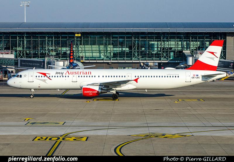 Pierre GILLARD: Austrian Airlines &emdash; 2018-706683
