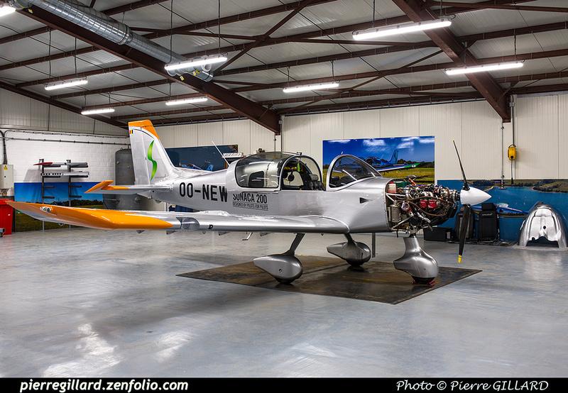 Pierre GILLARD: Belgium - SONACA Aircraft &emdash; 2018-616443