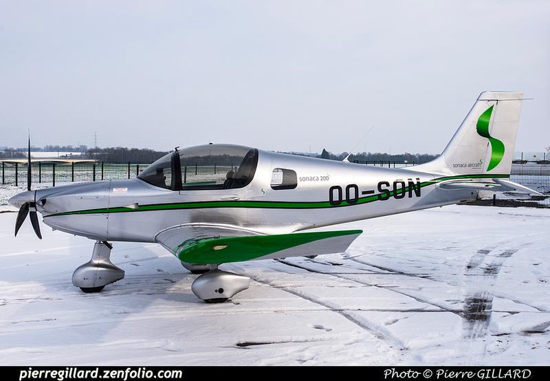 Pierre GILLARD: Belgium - SONACA Aircraft &emdash; 2018-616468
