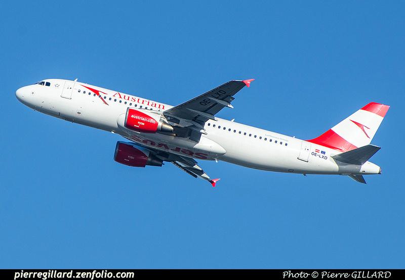 Pierre GILLARD: Austrian Airlines &emdash; 2018-706318
