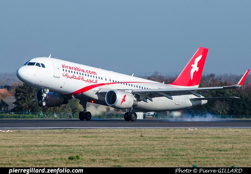 Pierre GILLARD: Air Arabia Maroc &emdash; 2018-706390