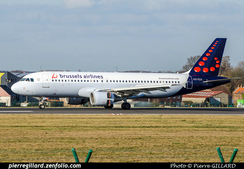 Pierre GILLARD: Brussels Airlines &emdash; OO-TCV-2018-706535