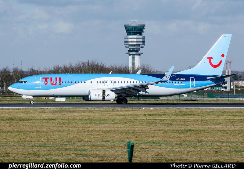 Pierre GILLARD: TUI Airlines Belgium &emdash; OO-TUV-2018-706435