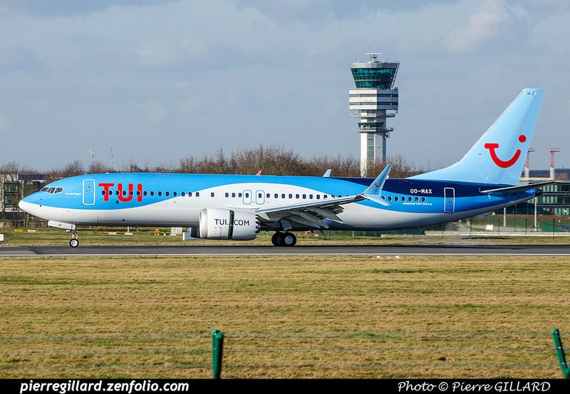 Pierre GILLARD: TUI Airlines Belgium &emdash; OO-MAX-2018-706516