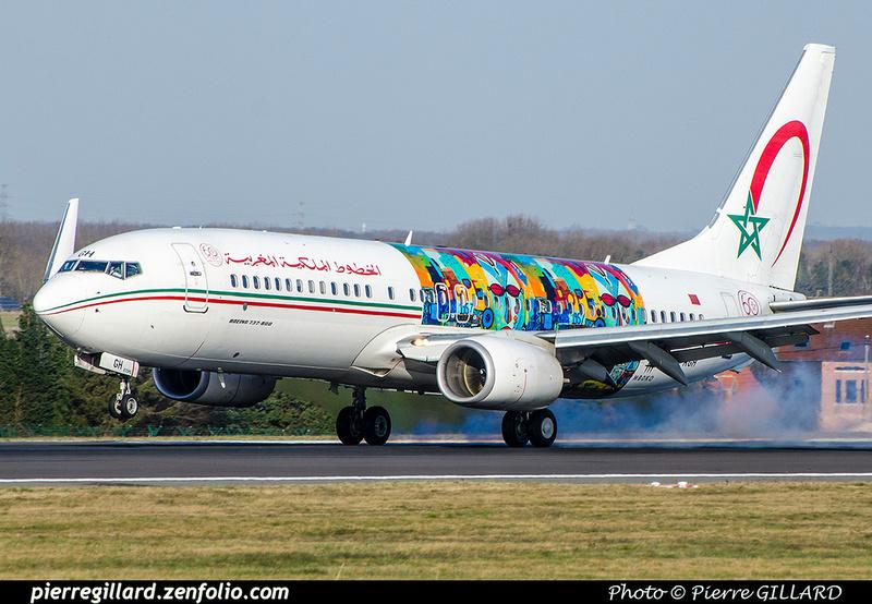 Pierre GILLARD: Royal Air Maroc - الخطوط الملكية المغربية &emdash; 2018-706483