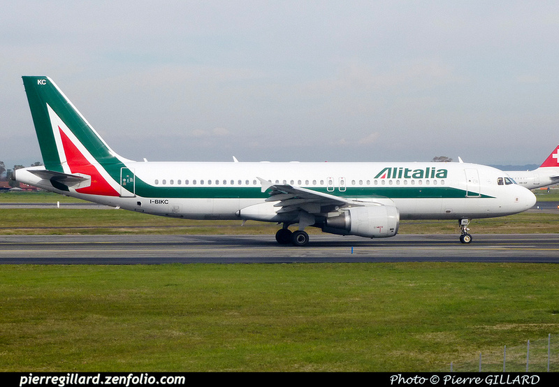 Pierre GILLARD: Alitalia &emdash; 2018-PR1040598