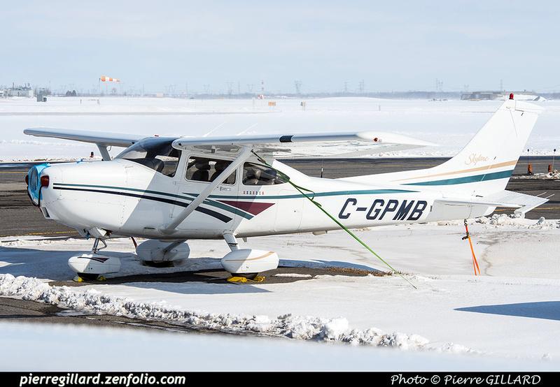 Pierre GILLARD: Private Aircraft - Avions privés : Canada &emdash; 2018-420458