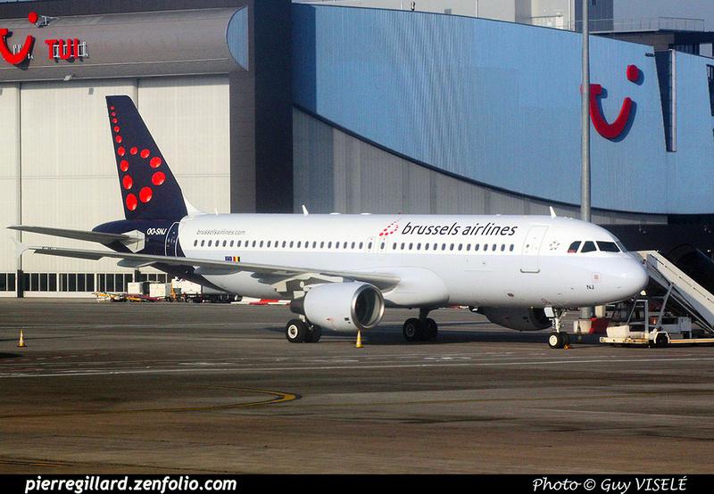 Pierre GILLARD: Brussels Airlines &emdash; OO-SNJ-030331