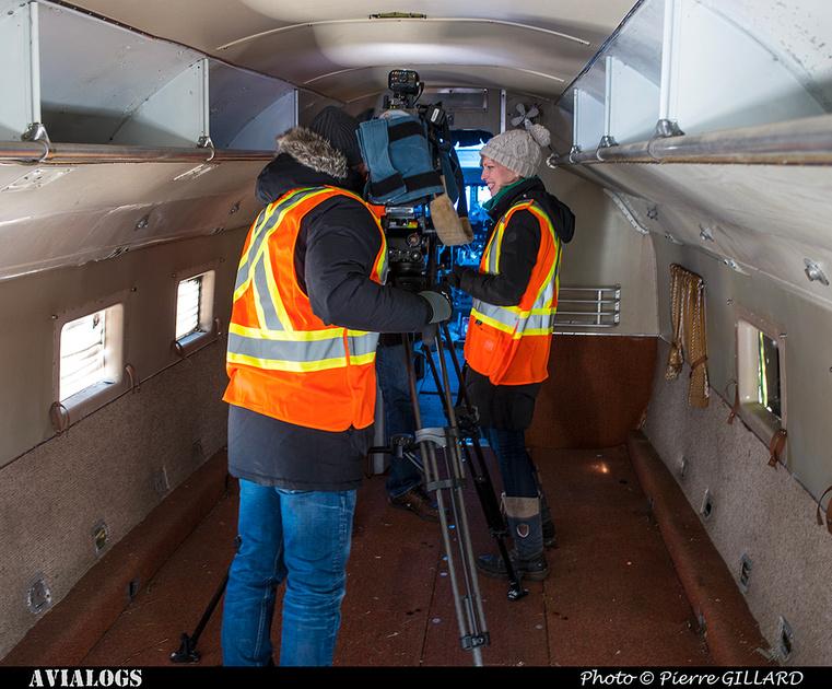 Pierre GILLARD: 2018-03-17 - Reportage de CTV au sujet du DC-3 C-FDTD &emdash; 2018-616778