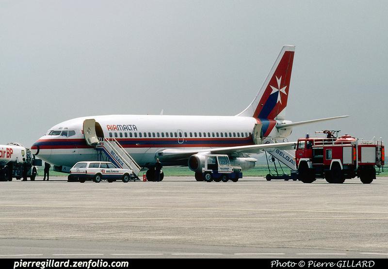 Pierre GILLARD: Air Malta &emdash; 021649