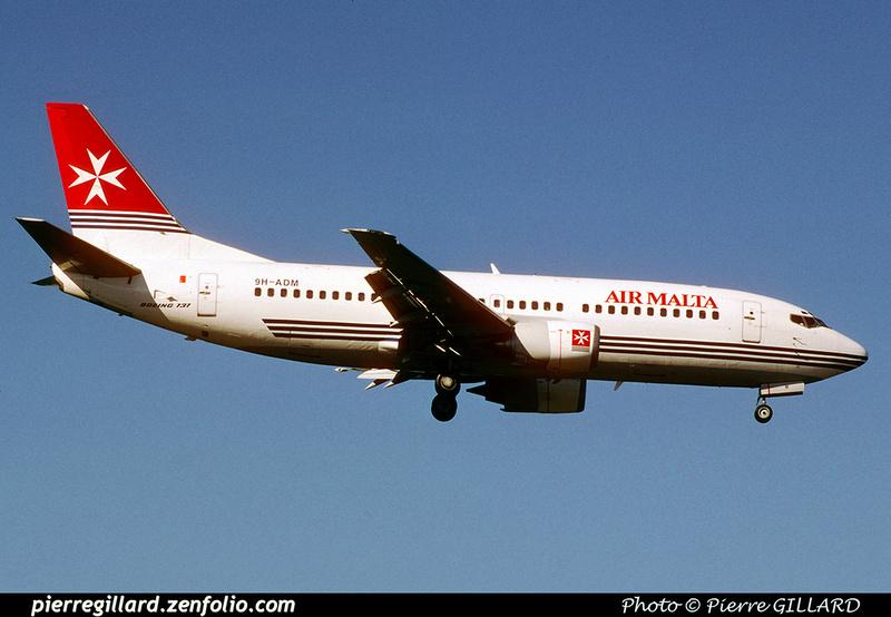 Pierre GILLARD: Air Malta &emdash; 021650