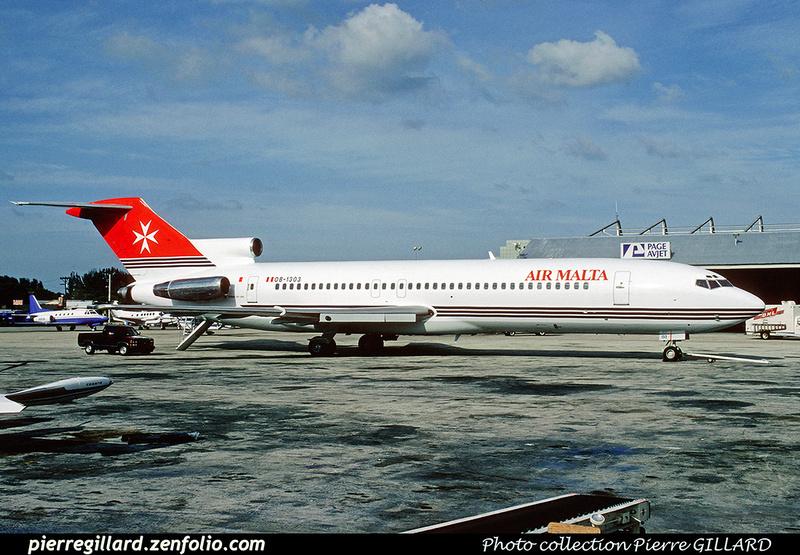 Pierre GILLARD: Air Malta &emdash; 021626