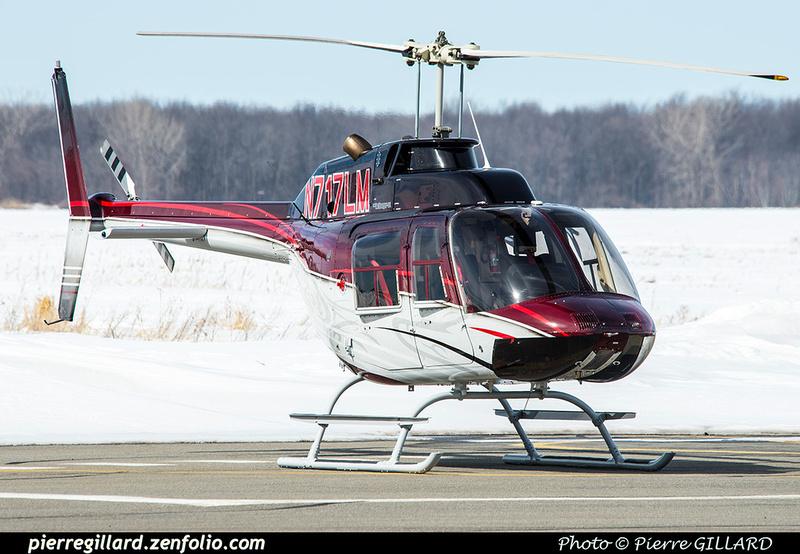 Pierre GILLARD: U.S.A. - Private Helicopters - Hélicoptères privés &emdash; 2018-420486