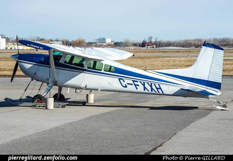 Pierre GILLARD: Private Aircraft - Avions privés : Canada &emdash; 2018-420560