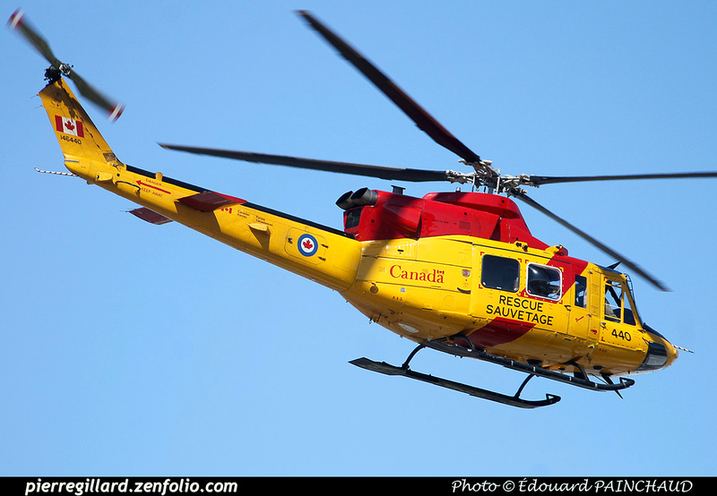 Pierre GILLARD: Canada - 444 Squadron - Escadron 444 &emdash; 030333