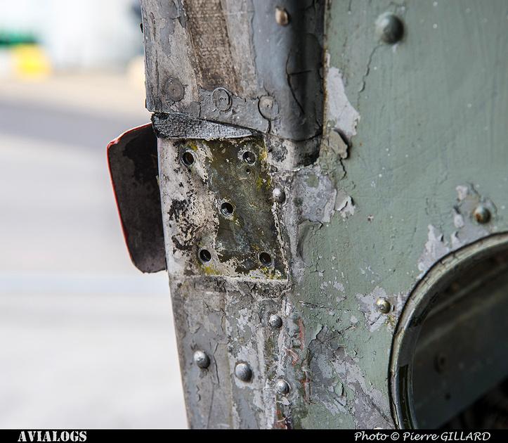 Pierre GILLARD: 2018-04-11 au ? - Réparation préliminaire de la porte avant du DC-3 C-FDTD &emdash; 2018-617017