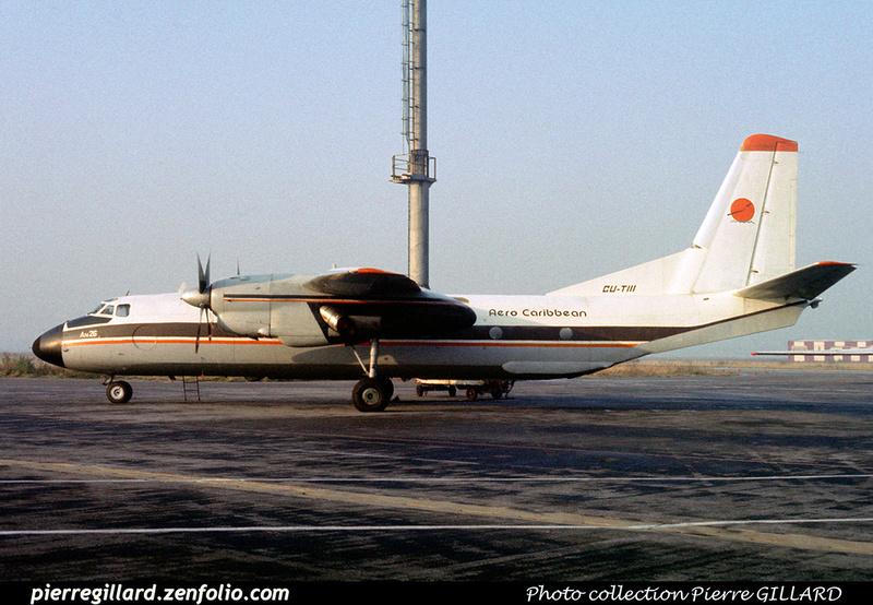 Pierre GILLARD: Aerocaribbean &emdash; 022984