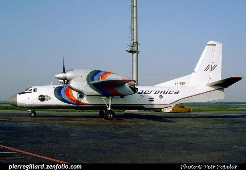 Pierre GILLARD: Aeronica - Aerolíneas Nicaragüenses S.A. &emdash; 023016