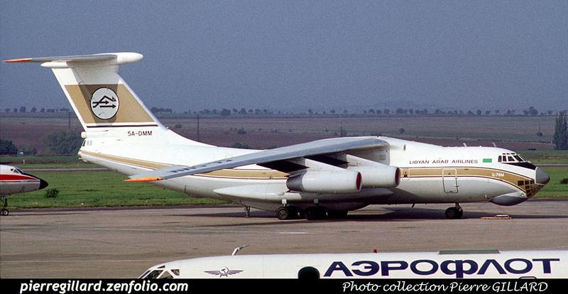 Pierre GILLARD: Libyan Arab Airlines - الخطوط الجوية الليبية &emdash; 023170