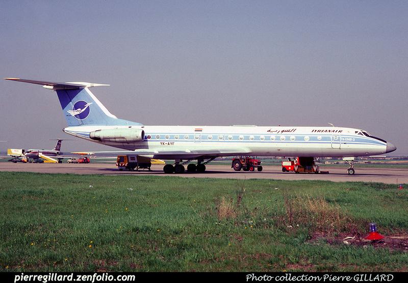 Pierre GILLARD: Syrian Air - السورية &emdash; 023259
